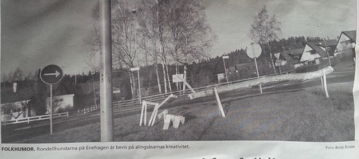 Allingsås Tidning - Rondellhund nytt ord för folklig rörelse